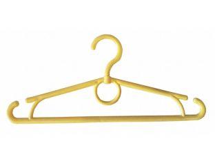 Вешалка плечики пластмассовые детское-Украина 32 см (желтая)