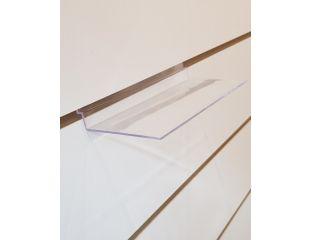 Полка в эконом панель ровная (акрил) размер 250мм×100мм