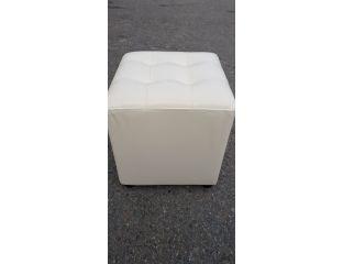 Пуфик квадрат,прошитый ( бежевый )-35×35×40см