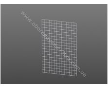 Сетка Торговая Белая (решетка) 100х100см проволока 3мм, ячейка 50/50мм