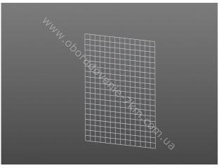 Сетка Торговая Белая (решетка) 100х75см проволока 3мм,ячейка 50/50мм