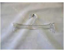 Вешалки Плечики для нижнего белья (бельевая) (прозрачная) 25 см