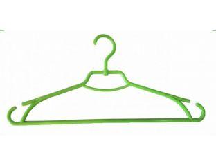 Плечики вешалки пластмассовые для одежды Лиза Украина 43 см (салатовая)
