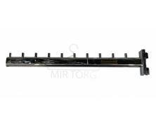 Кронштейн (Флейта) в рейку ровный 40 см